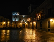 Plaza at night - 1/21/15