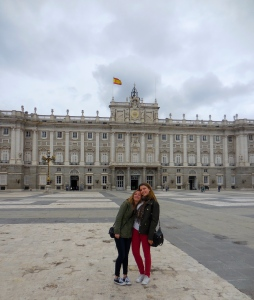 Ellie and me at the Royal Palace - 4/16/15