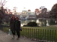 Palacio de Cristal, Retiro with Ashima - 1/25/15