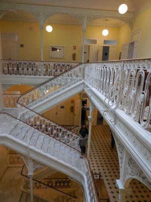 Inside stairwells of school - 2/2/15