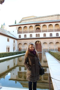 At the Alhambra, Granada - 2/6/15
