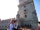 Alayna and me at the Belém Tower - 2/27/15