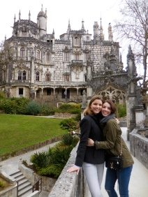 Emily and me at Quinta da Regaleira - 2/28/15