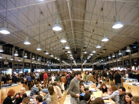 Mercado da Ribeira in Lisbon for dinner - 2/28/15