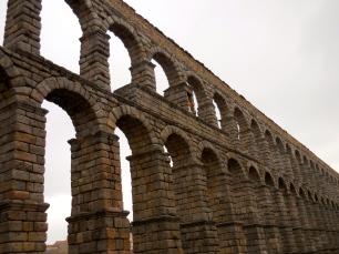 1st century CE Roman aqueduct - Segovia 3/13/15