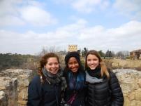 Emilia, Julianna and me - Segovia 3/13/15