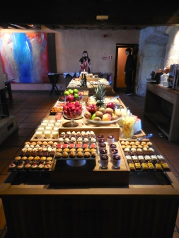 Amazing food spread at Hacienda Zorita - Salamanca 3/14/15