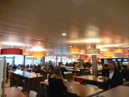 Student dining area at Ecole hôtelière de Lausanne - 3/20/15
