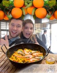 Valencia in a nutshell with Reed: oranges and paella - 2/22/15