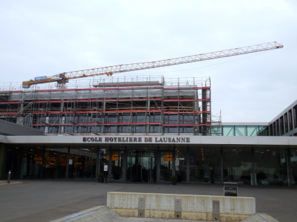 New construction at Ecole hôtelière de Lausanne - 3/20/15