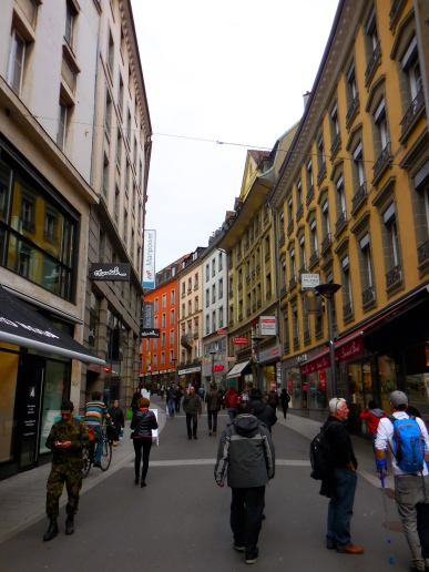 Downtown Lausanne - 3/20/15