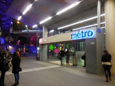 Lausanne Metro Station - 3/20/15