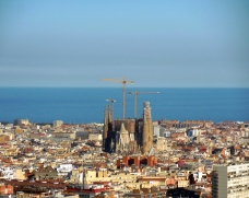 View of Barcelona from Park Güell - 3/27/15