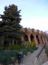 Michael and Me at Park Güell - 3/27/15