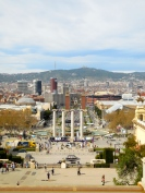 View from Montjuic - 3/29/15