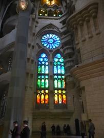 La Sagrada Familia interior - 3/29/15