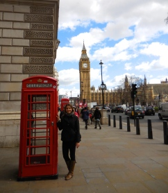 Classic British phone booth - 3/31/15