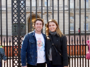 Scott and me at Buckingham Palace - 3/31/15