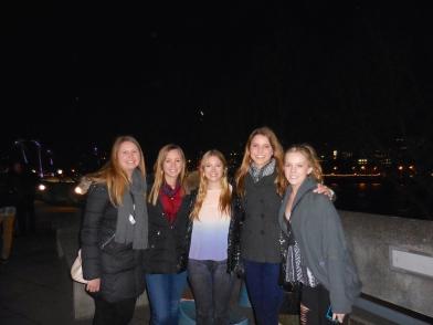 Margaret, Ellie, Alyse, me and Rachel - 3/31/15