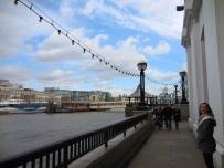 Ellie at the Tower Bridge - 4/1/15