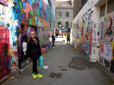 Ellie at Brick Lane - 4/3/15