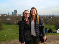 Ellie and me at Primrose Hill - 4/2/15