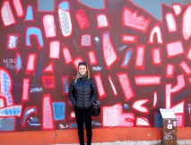 Me at the East Side Gallery - 4/4/15