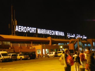 Marrakech Airport - 4/16/15