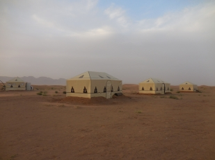 Our campsite in the Sahara  - 4/17/15