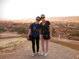 Janice and me in Ouarzazate - 4/18/15