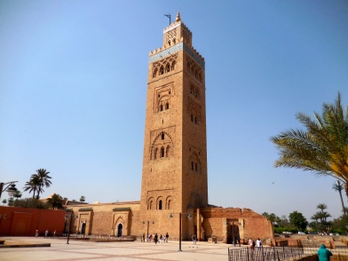 Mosque in Marrakech - 4/19/15