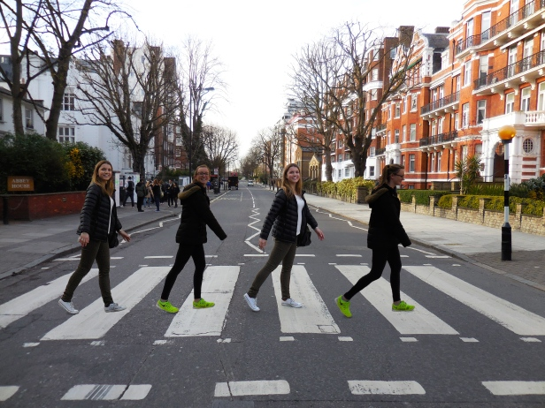 Me and Ellie (and me and Ellie) at Abbey Road - 4/2/15