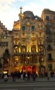 Gaudí building on La Rambla - 3/27/15