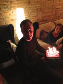 Michael's birthday party 3/28/15
