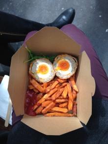 Scotch eggs from Borough Market - 4/1/15