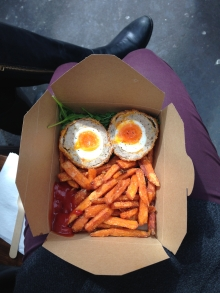 Scotch eggs from Borough Market - 4/1/15